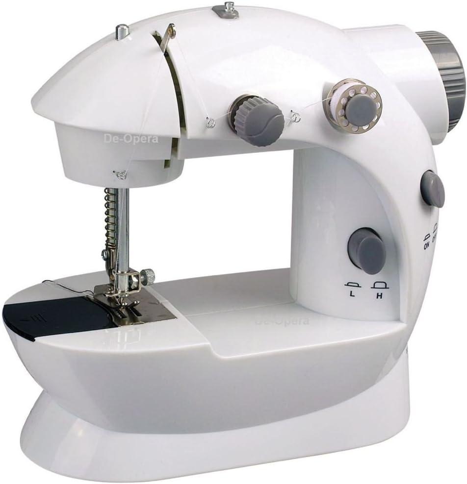 Electric/de punto de mano Mini máquina de coser portátiles Red ...