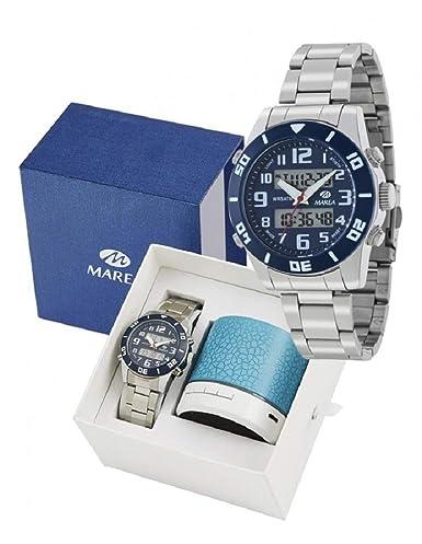Conjunto Reloj Marea Niño B35281/11 Altavoz Bluetooth: Amazon.es: Relojes