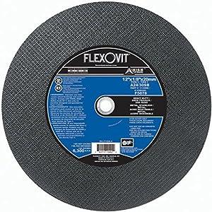 Flexovit F5078 12 X 1/8 X 20Mm A24/30Sb Metal Cut-Off Wheel (10 Pack)