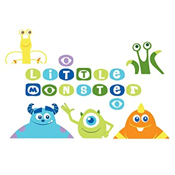 Amazon.com: Monsters Inc. Wall Decals: Health & Personal Care