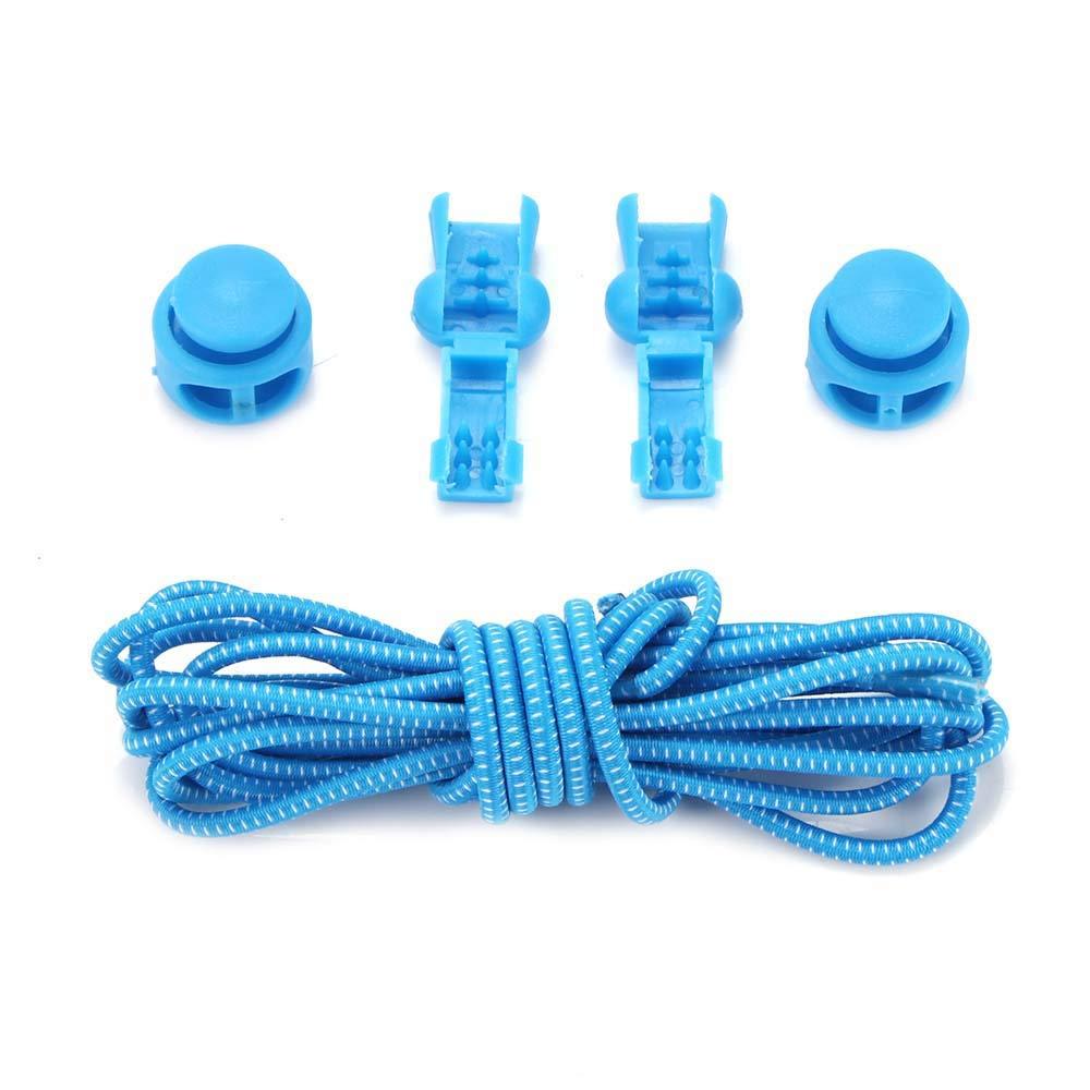 Winbang 1 Scarpe accoppiamento Guanti Poliestere Tie Elastico Antiscivolo, Blu e Bianco