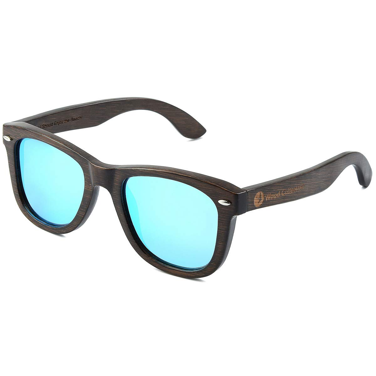 Floating Wood Sunglasses Polarized Unisex Bamboo Sunglasses