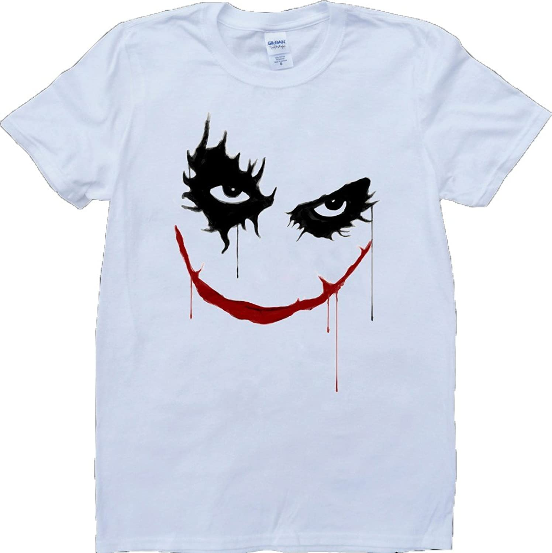 Joker Short Sleeve Crew Neck Custom Made T-Shirt