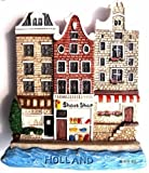 Old Wooden Shoes Shop Dutch. Holland Houses. Netherlands,high Quality Resin 3d Fridge Magnet