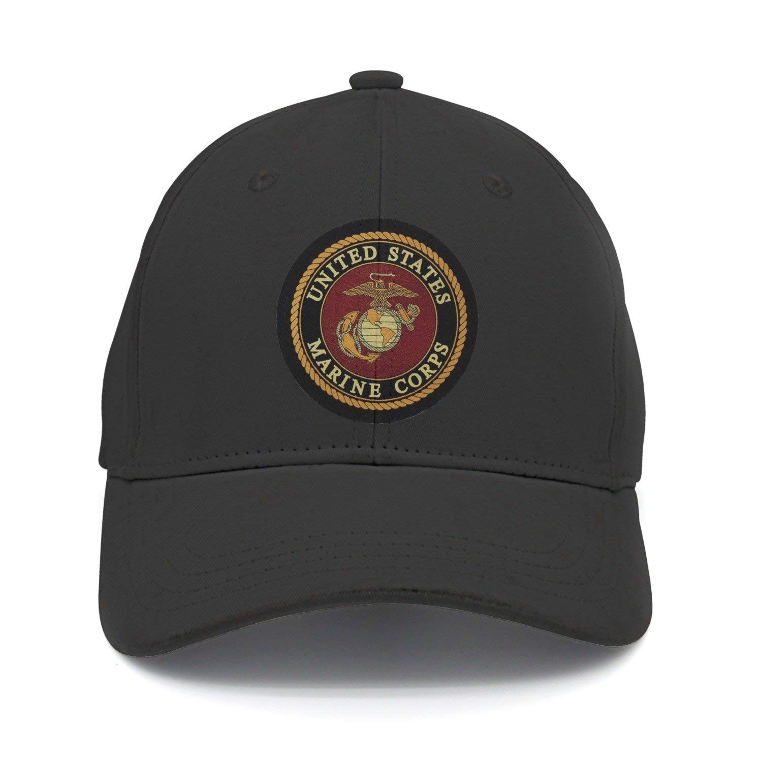 Sdltkhy USMC-Eagle Globe and Anchor Gorra de béisbol Ajustable de ...