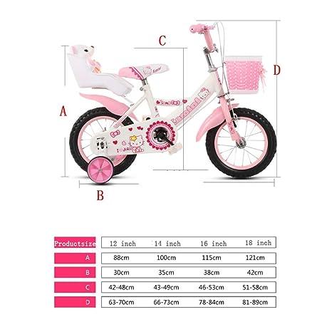 WY-Tong Bicicleta Infantil Bicicletas Infantiles Pedal de bebé ...