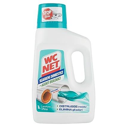 WC Net – Tratamiento para Tuberías domésticas, aroma de pino – 2 unidades de 1