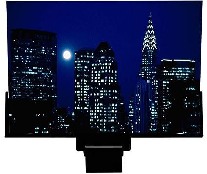 LK-HOME Lupa de teléfono móvil, Lupa de teléfono móvil de 14 Pulgadas, Lupa de Pantalla de teléfono móvil 3D, Lupa de Pantalla de teléfono Inteligente a Prueba de radiación,Negro: Amazon.es: Deportes y