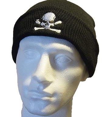 3f56991ed71bb Barefoot Tiger Pirate Beanie Hat: Amazon.co.uk: Clothing