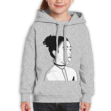 f8a136712 Amazon.com: Hi Liza X Koshy Youth Girl Sweatshirt Pullover Top Blouse  Novelty Hoodies: Clothing