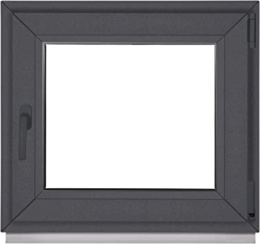 3 fach Verglasung BxH:85x85 cm DIN Links ALLE GR/Ö/ßEN Fenster Kellerfenster Kunststofffenster wei/ß Dreh-Kipp Premium
