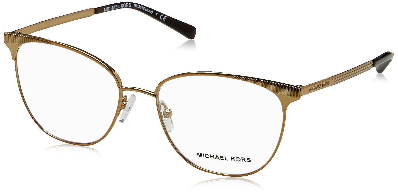 340efe17eea Eyeglasses Michael Kors MK 3018 1193 PALE GOLD-TONE at Amazon Men s  Clothing store