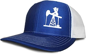 Oil Field Hats Royal Blue White PJ Cowboy Cap - FT1808 f57299084af