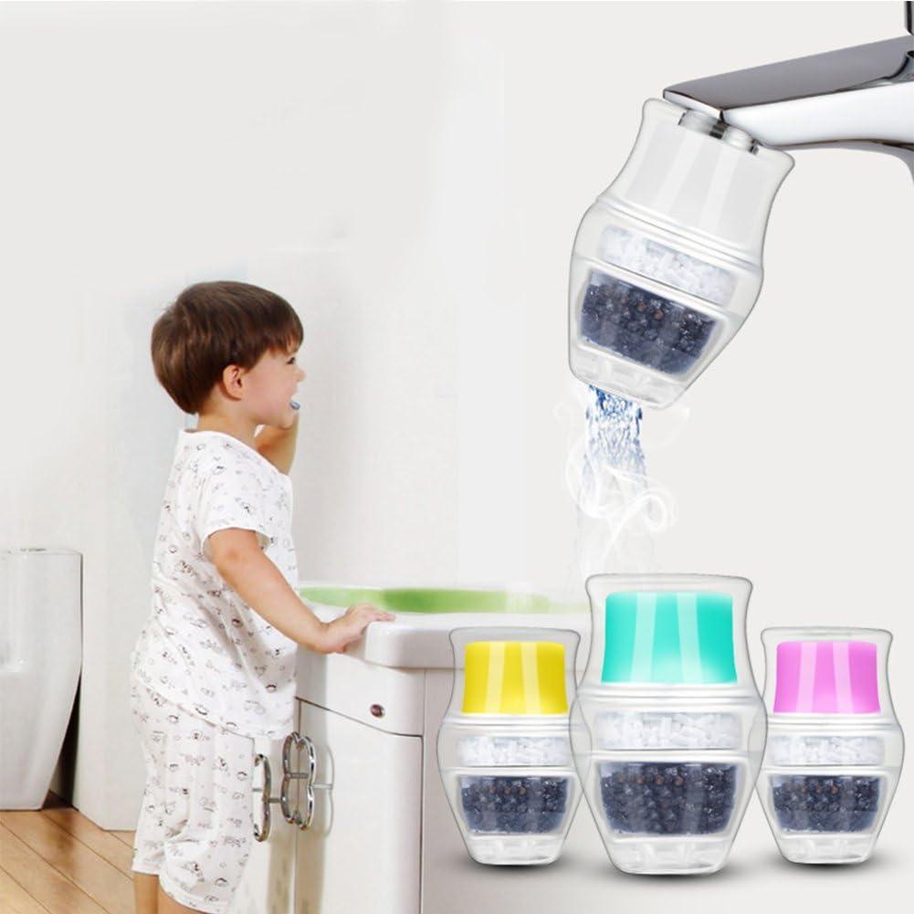 Etbotu - Boquilla de filtro de agua con filtro de carbón activado ...