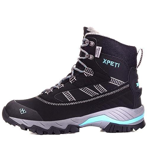 XPETI Oslo Botas de montaña Impermeables para Mujer: Amazon.es: Zapatos y complementos