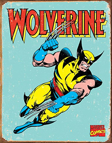 Old Tin Signs The_Amazing_Wolverine_Marvel_Comics