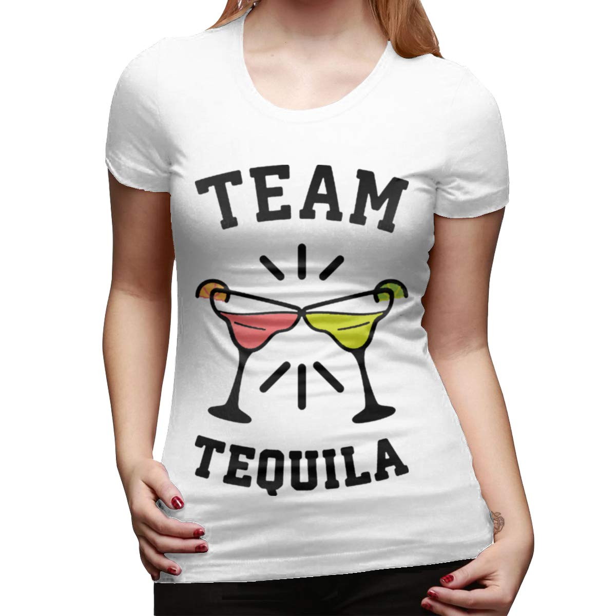 Seuriamin Team Tequila Relaxed Outdoor Round Neck Short Sleeve Shirt Tops
