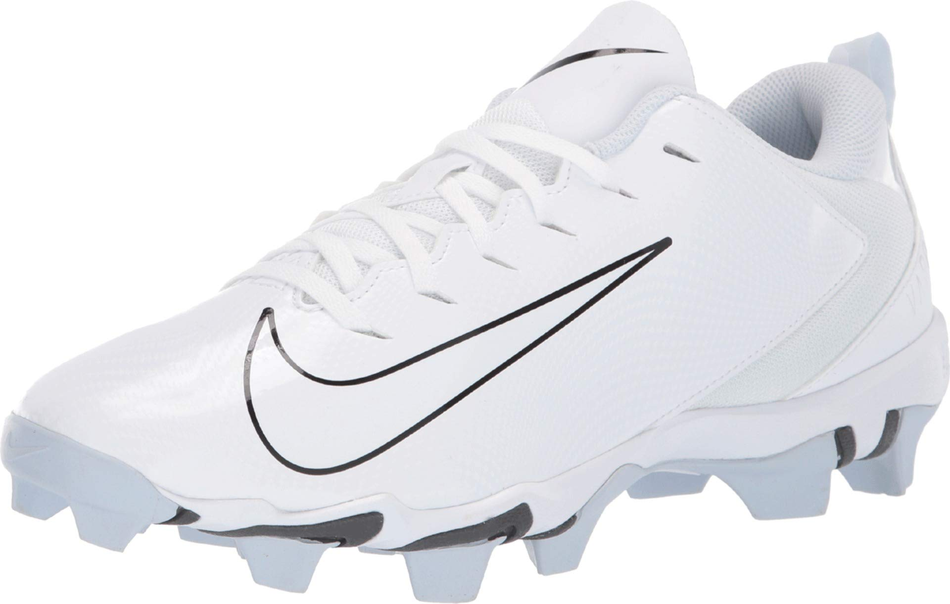 Nike Men's Vapor Untouchable Shark 3 Football Cleat White/Pure Platinum/Dark Grey Size 11 M US by Nike
