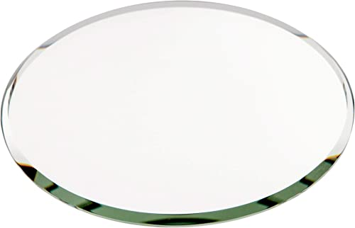 Plymor Round 3mm Beveled Glass Mirror, 4 inch x 4 inch Pack of 144