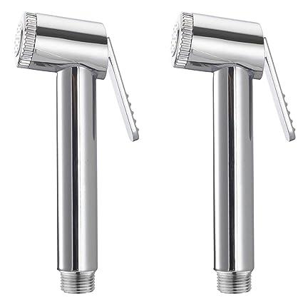 PESCA R/N Sleek Health Plastic Faucet Head - Set of 2