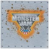 Monster Jam 3D Birthday Party Supplies 40 Pack Lunch Napkins