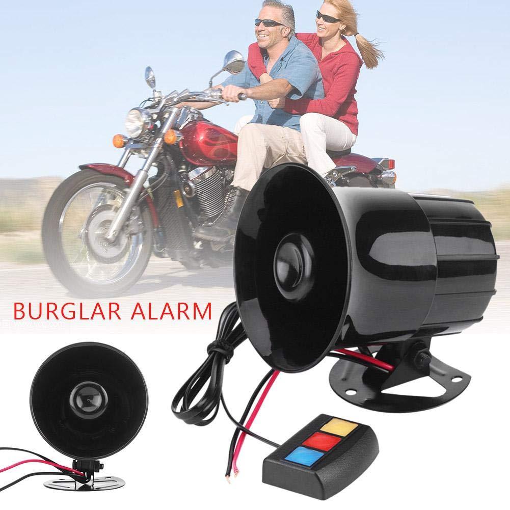 Welltobuy Vehículo Alarma de Bocina Amplificador de Sonido ...