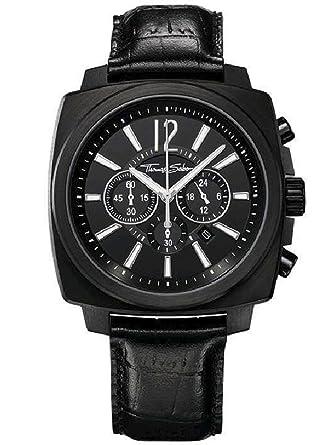 0c523127ba3 Thomas Sabo Mens Rebel At Heart Watch WA0082-213-203-44  Amazon.co.uk   Watches
