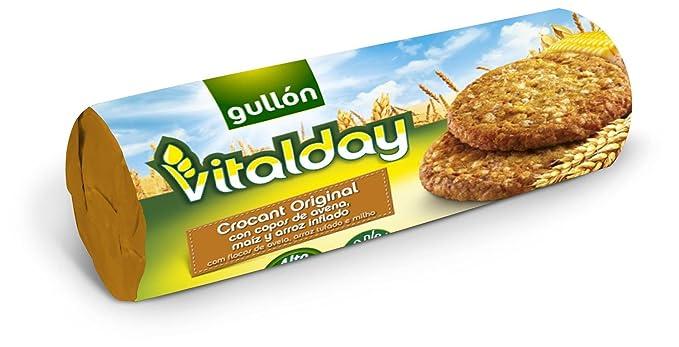 Gullón Vitalday Crocant Original Galleta Desayuno y Merienda - 265 gr