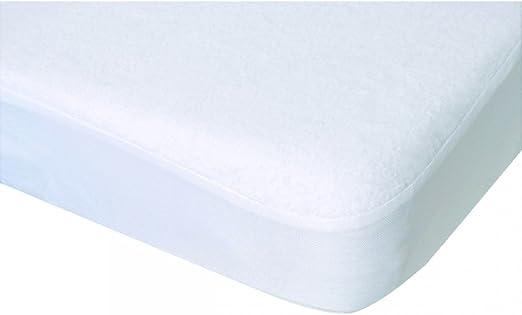 Poyet Motte Numenius cubrecolchón colchón algodón Blanco, algodón ...
