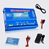 FCONEGY B6 Lipo Battery Balance Charger 80W 6A Discharger for NiMH/NiCd (1-15S), LiPo/Li-ion/Life Battery (1-6S), RC…
