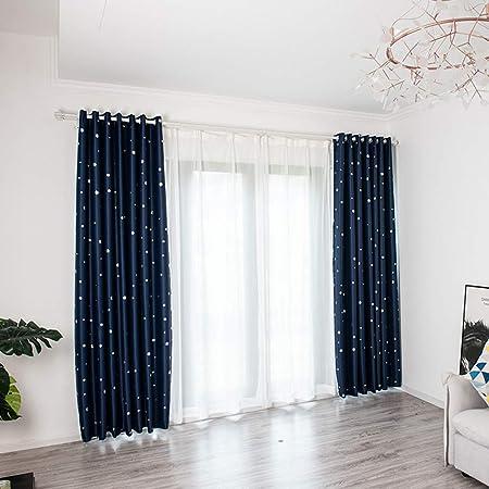Persianas verticales SuperUS para puerta corredera, cortinas opacas con ojales en la parte superior, persianas de privacidad para patio, cortinas extra anchas: Amazon.es: Hogar