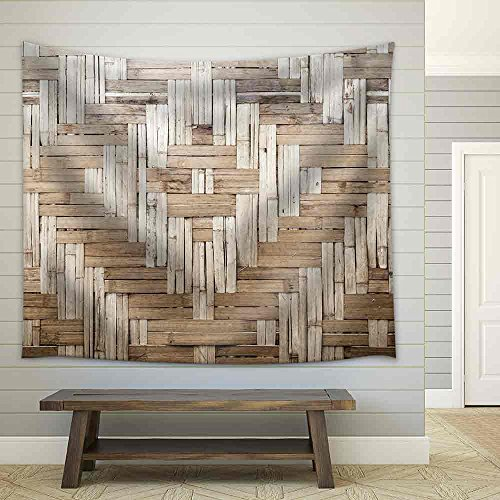 Bamboo Texture and Background Fabric Wall Tapestry