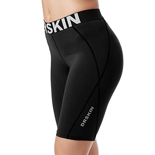 0283784b484770 Image Unavailable. Image not available for. Color: DRSKIN Compression Cool  Dry Sports Tights Pants Baselayer ...