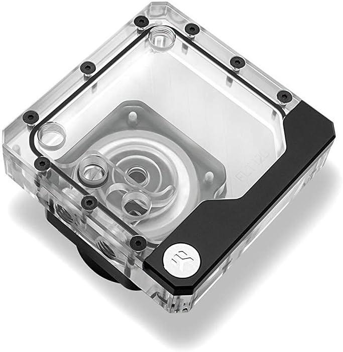 EKWB EK-Quantum Kinetic FLT 120 Pump/Reservoir Combo, D5 PWM, D-RGB, Plexi