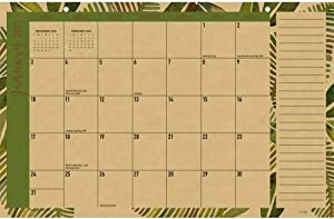 LANG Tropic Kraft Deskpad Calendar (21991085104)