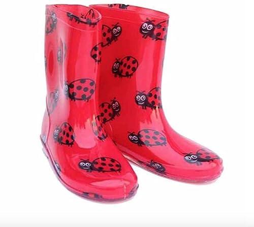 bottes de caoutchouc femme coccinelle