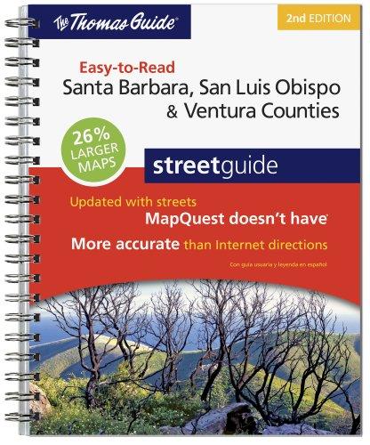 The Thomas Guide Santa Barbara, San Luis Obispo, and Ventura Counties - Barbara State Street Santa