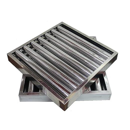 Filtro campana extractora bar industrial 490 x 490 x 50 mm.: Amazon.es: Industria, empresas y ciencia