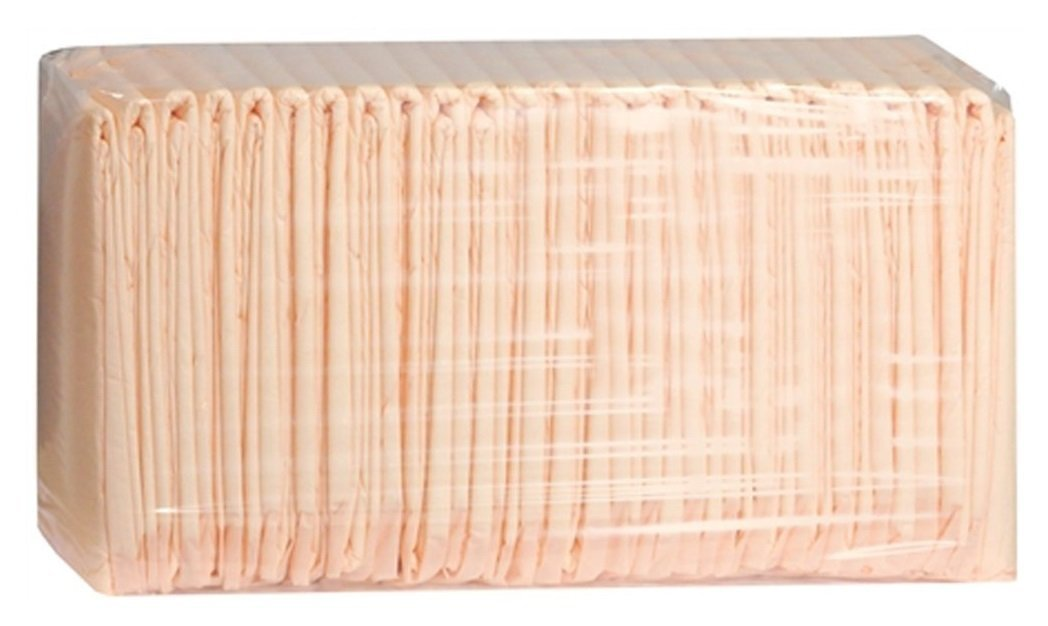 Prevail Super Absorbent Disposable Underpads - 30'' x 36'' Peach - Case of 100