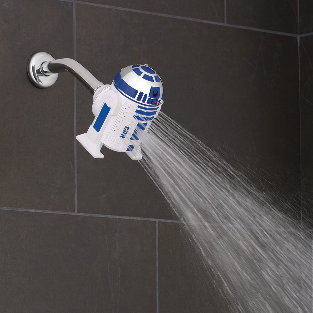 Oxygenics 73268 STAR WARS R2D2 Shower Head Amazoncom