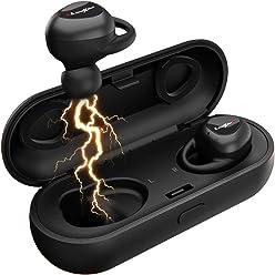 LiteXim Auricolari Wireless Auricolari Bluetooth 5.0 Cuffie Auricolari  Wireless Bluetooth Senza Fili Sport Auricolari con Microfono 265a61e2d63d