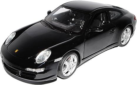 Porsche 911 997 Polizei Orange Weiss Benelux Police 1//18 Welly Modellauto Modell