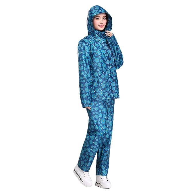 Dimensione : XL Liuzecai Cappotto per Giacca Antipioggia