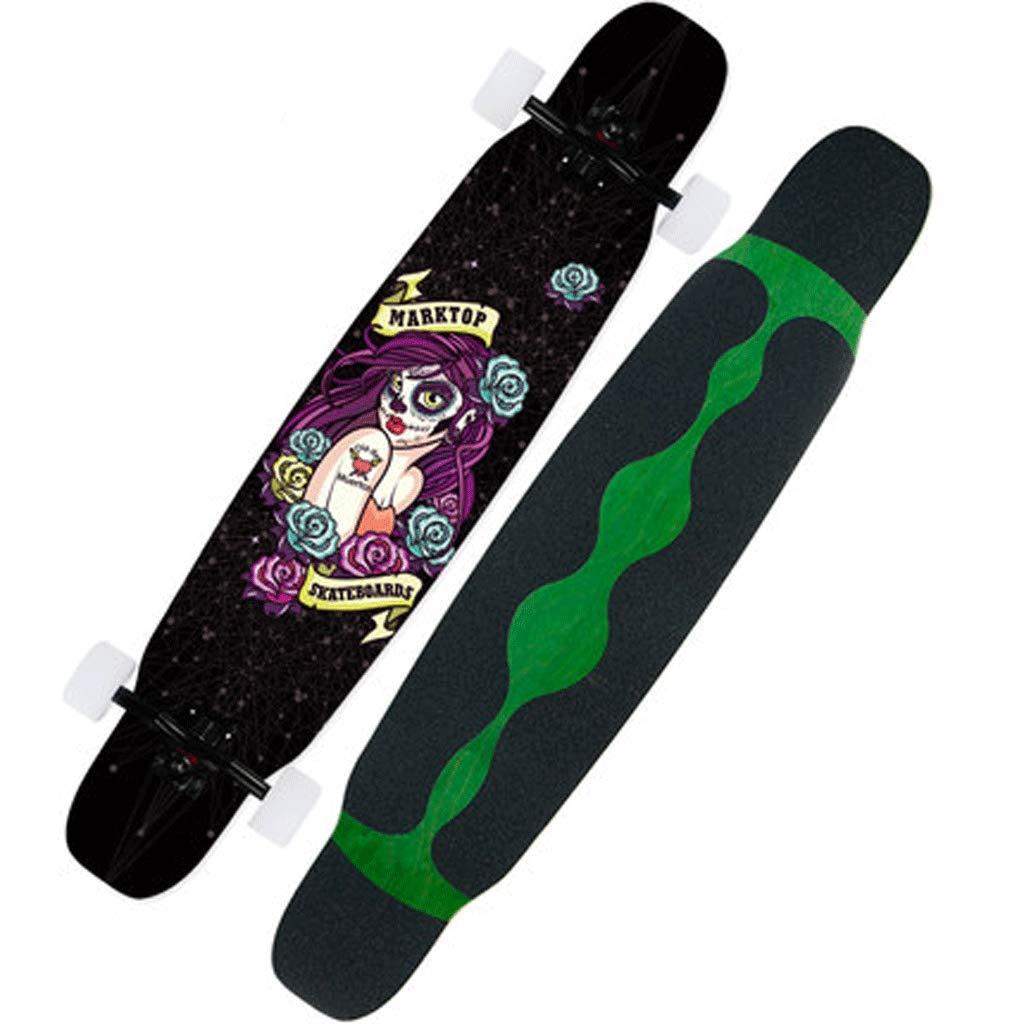 人気提案 ロングボードスケートボード初心者大人男性と女性プロフェッショナルロングボード4ラウンドスケートボードストリートスキルダンスボード : (色 Witch : Panda) B07KS6DC44 Panda) Witch Witch, ザッカバーグ:60bdddbd --- a0267596.xsph.ru