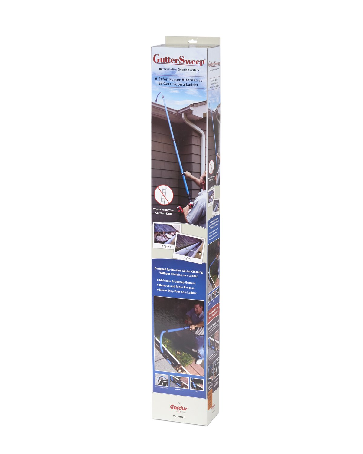 Gardus GS900 GutterSweep Rotary Gutter Cleaning System