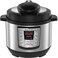 Instant Pot LUX60V3 6-in-1 Muti-Use Programmable Pressure Cooker, Slow Cooker, Rice Cooker, Sauté, Steamer, and Warmer (Certified Refurbished)