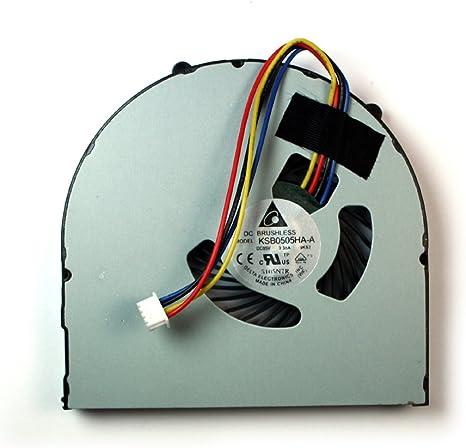 Power4Laptops Ventilador para Ordenadores portátiles Compatible con Lenovo Ideapad B590: Amazon.es: Informática