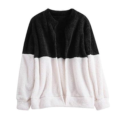 ZHRUI Abrigos de Mujer Chaqueta de Mujer Outwear Chaqueta de Invierno Otoño e Invierno Abrigo Mullido