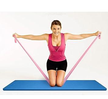 VIO Yoga Bandas elásticas Látex verde Cuerda de tracción ...