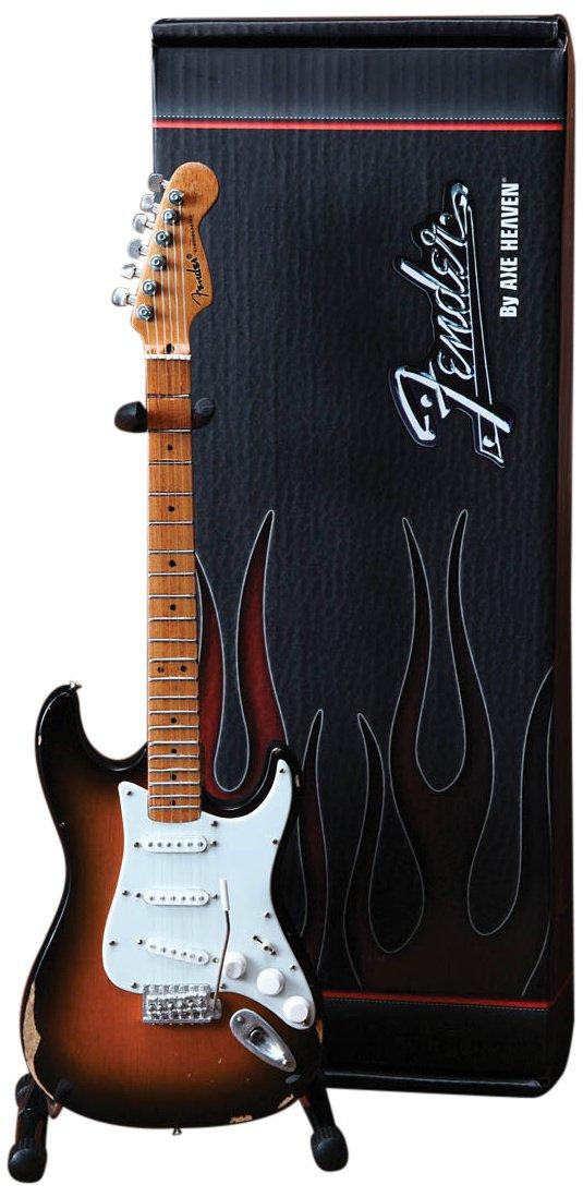 Axe Heaven FS-001 Fender Stratocaster Classic Sunburst Finish Miniature Guitar Hal Leonard Music Accessories Accessory Consumer Accessories